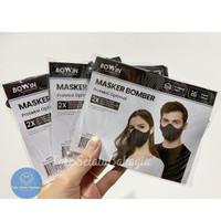 READY!! Masker Bomber Bowin (Masker Kain 4 Lapis)