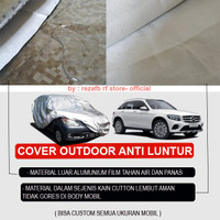 OUTDOOR body cover mobil sarung mobil Mercy Bmw X1 X 2 3 4 5 6 7 Suv