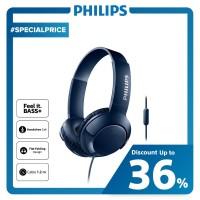 Philips BASS+ Headphone With Mic SHL 3075 - Blue