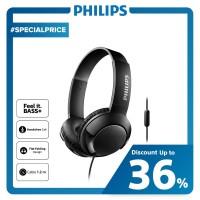 Philips BASS+ Headphone With Mic SHL 3075 - Black