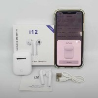 Airpods i12 TWS Wireless Headset Earphone Bluetooth Headset earphone