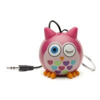 PROMO GARAGE SALE !! Speaker Portable Mini Optimuz Karakter - Pink Owl