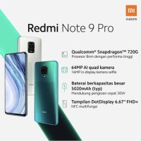 Xiaomi redmi note 9 pro 8/128 garansi resmi