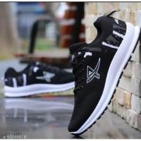 Sepatu Sneakers Olahraga Pria keren bahan Mesh Breathable Rbx