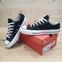 Sepatu Converse All Star 70s Low Black White Premium Original BNIB