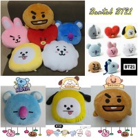 BANTAL BONEKA KOREA BT21 BTS Unofficial TATA CHOOKY CHIMMY VAN KOYA