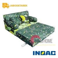 Sofa Bed Busa Inoac 120x200x20 Garansi 10th Original Jabodetabek only