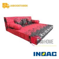 Sofa Bed Busa Inoac 200x200x20 Garansi 10th Original Jabodetabek only