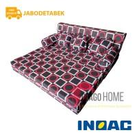 Sofa Bed Busa Inoac 160x200x20 Garansi 10th Original jabodetabek only
