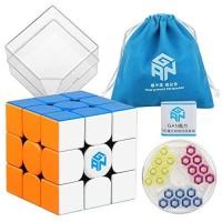 Rubik 3x3 GAN 354 M V2 Advance + GES 3x3 Stickerless Original