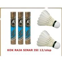 Kok Badminton/Bulu Tangkis/Shuttlecock Raja Sinar