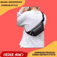 Tas Selempang Pria Import Waist Bag Waistbag Cowok Terbaru Waterproof