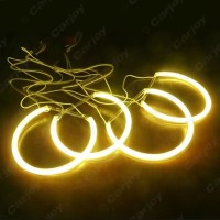 CCFL KUNING Ring Angel Eyes BMW E46 318i 323i 325i thn 99-04