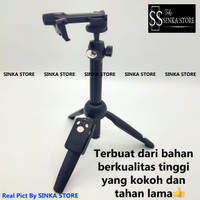 YUNTENG YT-9928 3 IN 1 TONGSIS TRIPOD SELFIE WITH REMOTE BLUETOOTH