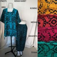 Setelan Kulot Premium Baby Doll Baju Tidur Batik Pekalongan PM 3