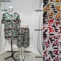 Setelan Kulot Baby Doll Daster Baju Pakaian Tidur Batik Pekalongan 3