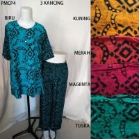 Setelan Kulot Premium Baby Doll Baju Tidur Batik Pekalongan PM 4