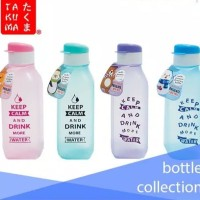 Botol Minum Takuma Flip Top Segi 550ml Pastel / Botol Air 550ml