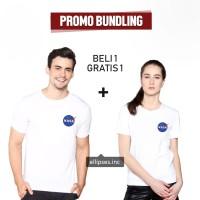 TUMBLR TEE COUPLE NASA WARNA PUTIH