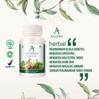 AFIAPRO obat herbal diabetes kolesterol darah tinggi