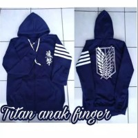 jaket sweater anak anak attack on Titan