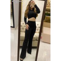 Celana Panjang Polos Cubrai / Celana Scuba Import /Celana Wanita-C516