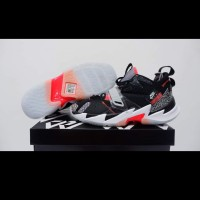 sepatu basket airjordan why not zero 3 black cement