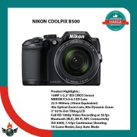 NIKON COOLPIX B500 B-500 B 500 BLACK