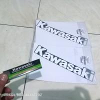 striping stiker Fairing bawah ninja rr old se tulisan Kawasaki ori