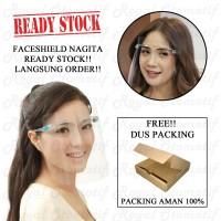 Faceshield Kacamata / Face Shield Kacamata Safety / Orbital Mask