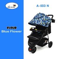 Kereta Dorong Bayi Stroller Labeille A-503 Flour