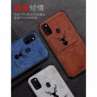 Softcase Samsung M21 Deer Cloud