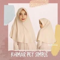 Khimar Pet Ukuran Sedang Standar Diamond Jilbab Simple Kerudung Pet