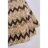 doby CHOCO PASTEL motif 5 coklat bahan kain batik cap katun dobby dobi
