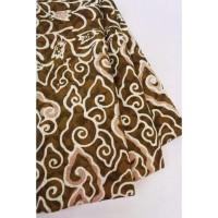 doby CHOCO PASTEL motif 10 coklat bahan kain batik katun dobby dobi