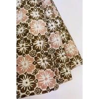 doby CHOCO PASTEL motif 7 coklat bahan kain batik cap katun dobby dobi