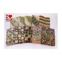 doby CHOCO PASTEL coklat lereng bahan kain batik cap katun dobby dobi