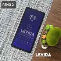 TEMPERED GLASS OPPO RENO 2 ANTI BLUE ANTI RADIASI TG FULL LEM⠀