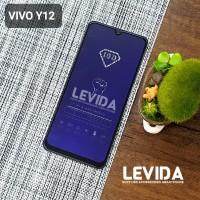 TEMPERED GLASS VIVO Y12 ANTI BLUE ANTI RADIASI TG FULL LEM⠀