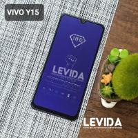 TEMPERED GLASS VIVO Y11 ANTI BLUE ANTI RADIASI TG FULL LEM⠀