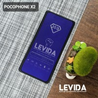 TEMPERED GLASS POCOPHONE X2 ANTI BLUE ANTI RADIASI TG FULL LEM⠀