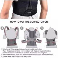 HAILICARE Terapi Punggung Back Support Posture Corrector Male/Female - L