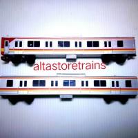 miniatur kereta api Commuterline KRL