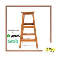 Kursi kayu Kursi tangga 75cm Nomor 2