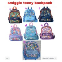 ORIGINAL SMIGGLE teeny tiny Mini Backpack tas anak