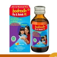 Obat batuk flu anak BODREXIN SIRUP FLU BATUK PE