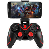 Gamepad T3 Bluetooth Controller Joystick For Android With Holder