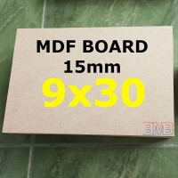 MDF Board 15mm Ukuran 9cm x 30cm