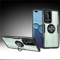 Case Clear Ring Magnetic Shockproof Casing Huawei P40