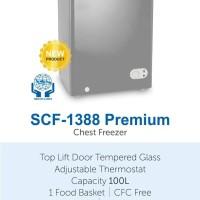 Chest freezer denpoo scf 1388 Premium
